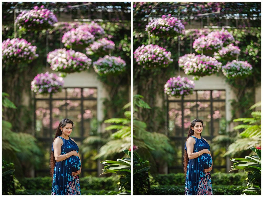 beautiful+mother+to+be+at+longwood+gardens+pa