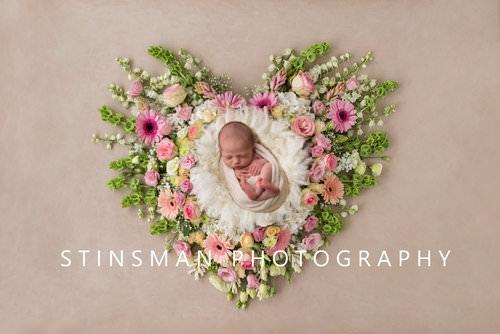 newborn+baby+girl+in+a+beautiful+flower+art+piece+new+jersey+newborn+photographer