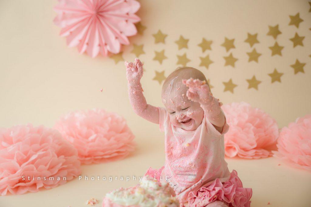 first birthday twinkle star theme